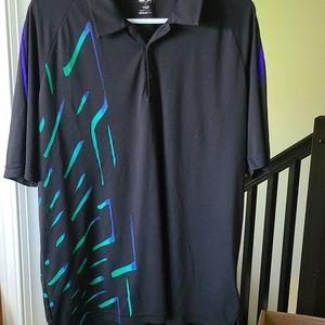 Mens Adidas golf shirt large